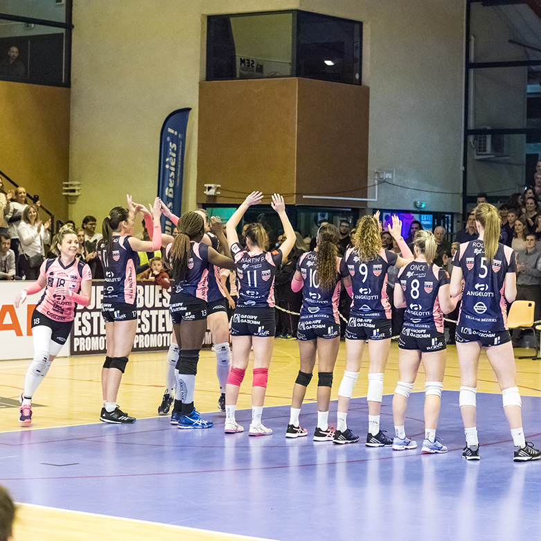 Agglo Béziers Méditerranée beziers angels volley sports