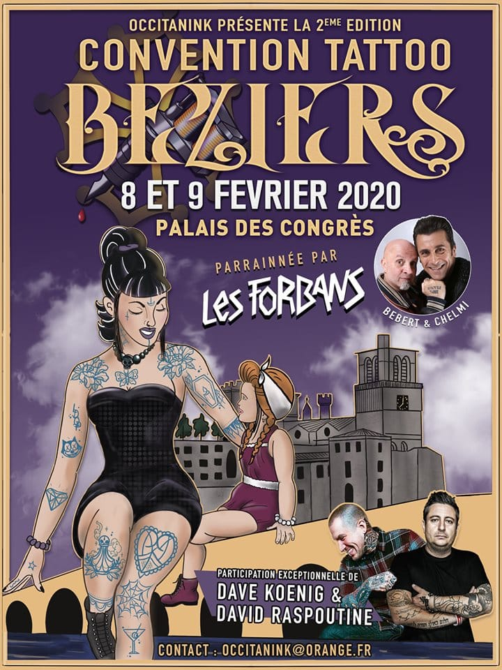 convention tattoo agglo beziers