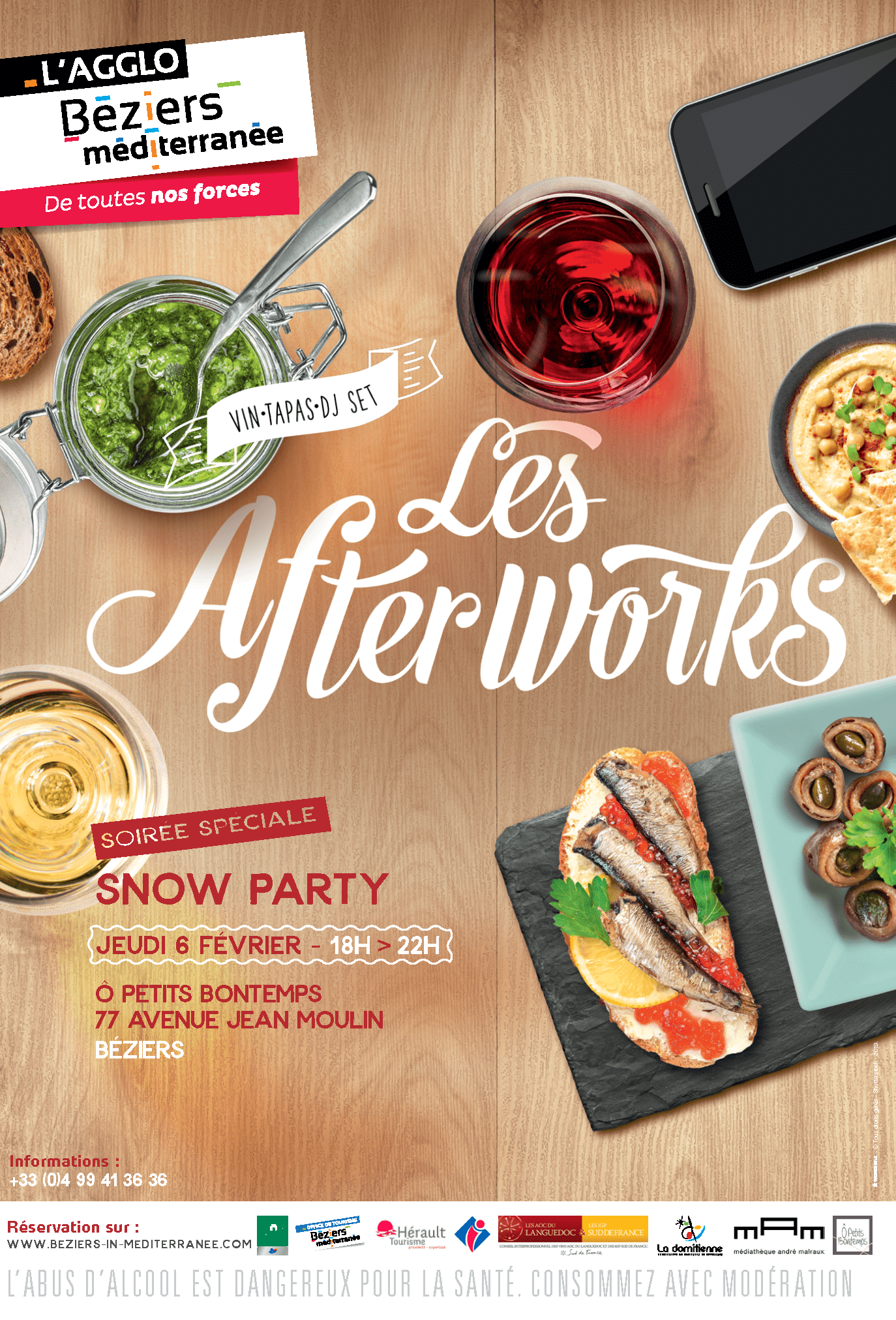 afterwork 6.02.20 agglo beziers