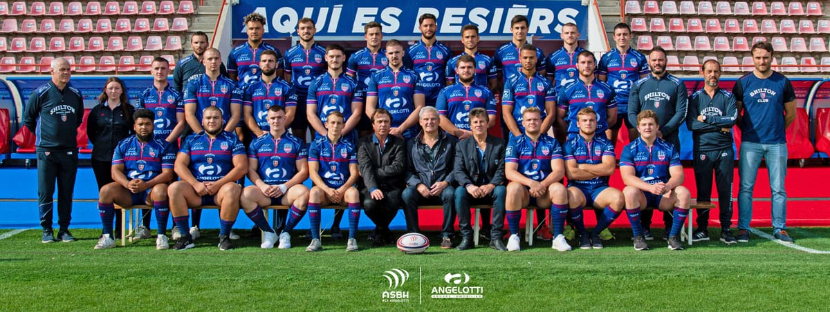 ASBH jeunes formation ASBH rugby Agglo Beziers Méditerranée collectif 2019 2020